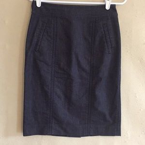 Lilly Pulitzer Jean denim skirt like new size 4